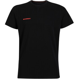 Mammut Logo T-shirt Heren, black prt2